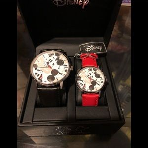 Mickey  watch set new his and hers